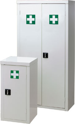 570 x 850 x 255 white first aid wall cabinet