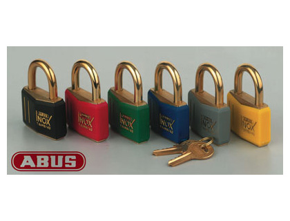 Padlocks - abus padlocks red