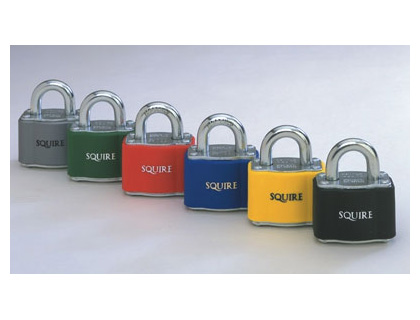 Padlocks - 17 mm shackle silver padlock keyed differently
