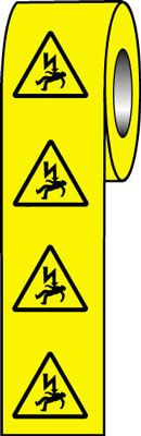 50 x 50 electric shock risk