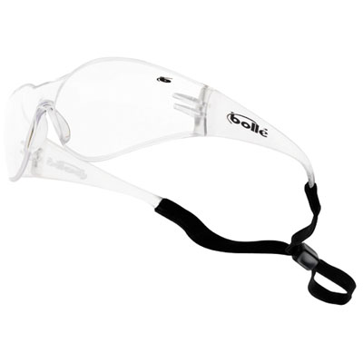 bandido safety specs clear lens