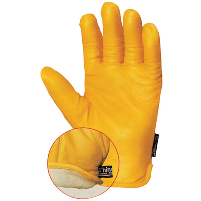 thinsulate double anti-cold gloves size 10