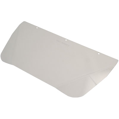 head prot accessory polycarb visor