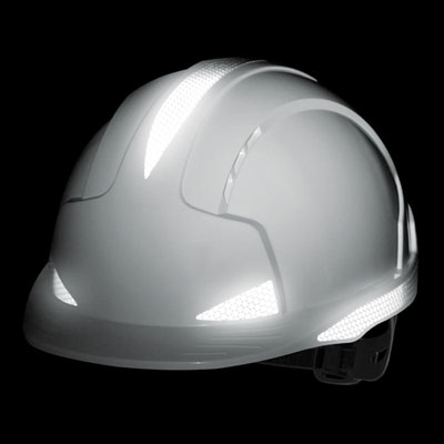 Hard hats - evolite cr2 helmet slip ratchet white