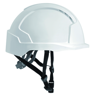 Hard hats - evo linesman helmet slip ratchet white