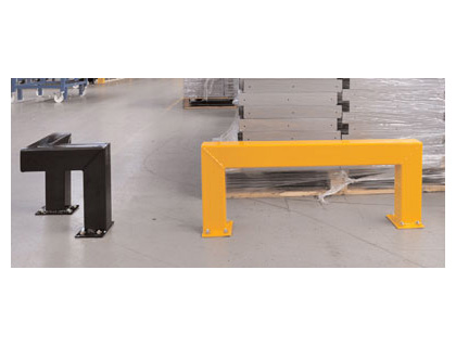 low level barrier 400 mm yellow