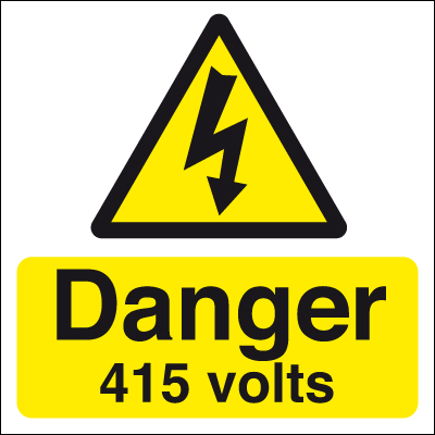 50 x 50 danger 415 volts