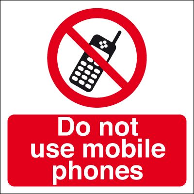 50 x 50 do not use mobile phones