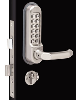 Heavy duty mechanical lock