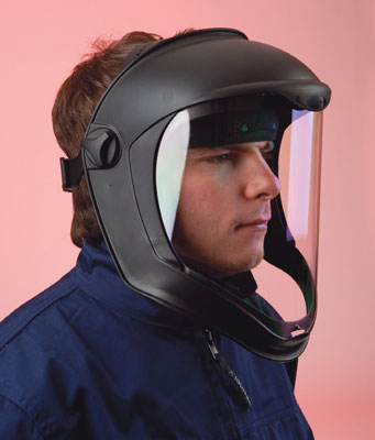 Bionic faceshield clear polycarb visor
