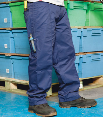 PPE Workwear clothing - Working trouser royal blue s