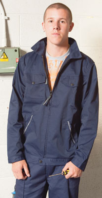 PPE Workwear clothing - Working jacket navy s