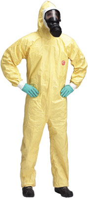 Tychem c chemical coverall L Large