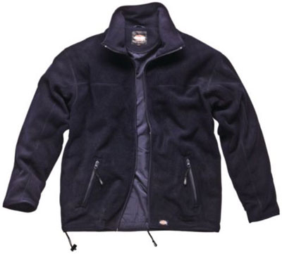 PPE Workwear clothing - Microfleece jacket navy size L