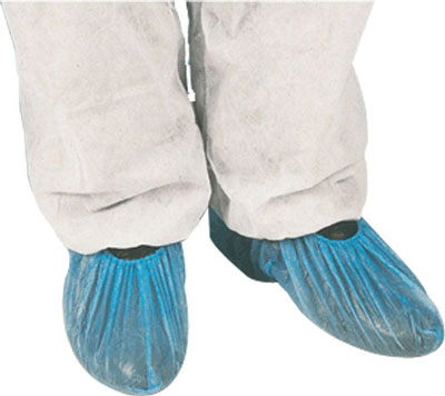 Disp overshoes blue 50 pairs (100 pack )