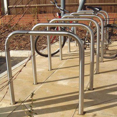 Sheffield bicycle stand galvanised