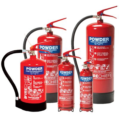 Fire extinguishers - 1kg powder extinguisher