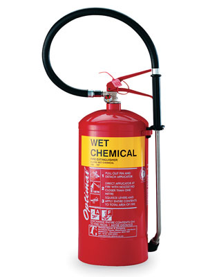 3 litre wet chemical extinguisher