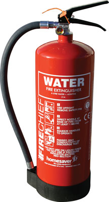 3 litre water additive extinguisher