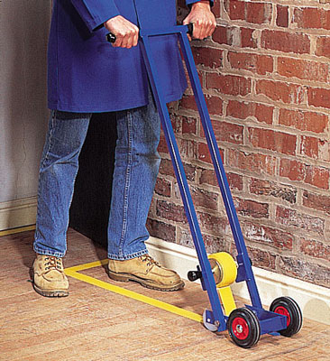 Floor marking tape applicator*