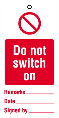 200 x 100 mm do not switch on