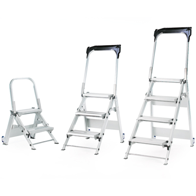 Step ladders - Folding safety steps 2 tread