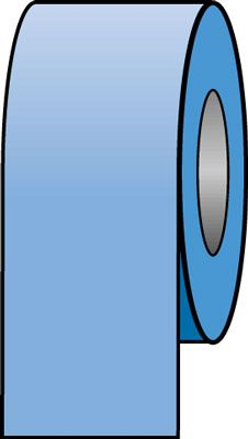 150 x 33 metre light blue tape
