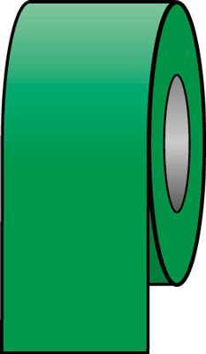 Pipeline colour tapes 33 mm x 33 metre emerald green