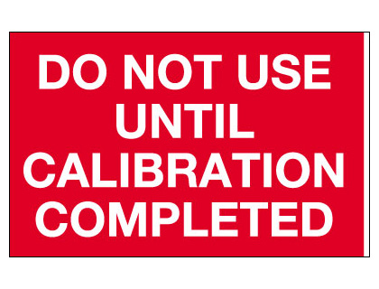 25 x 40 calibration not required tamper