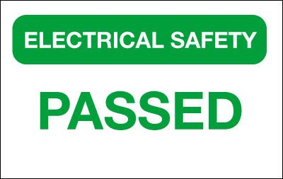 25 x 40 electrical safety-passed cloth