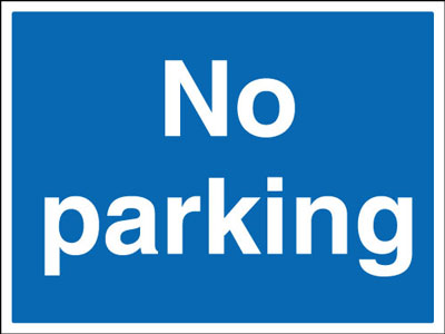 450 x 600 mm no parking