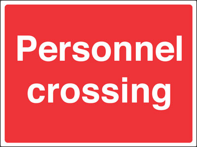 450 x 600 mm personnel crossing