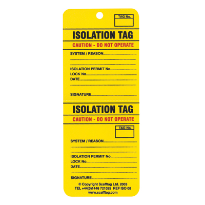 2-part isotag pack 10