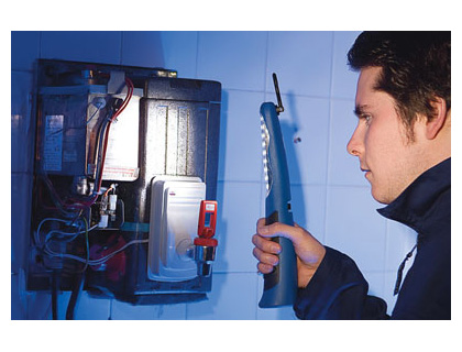 Cordless rechargeable inspection lamp