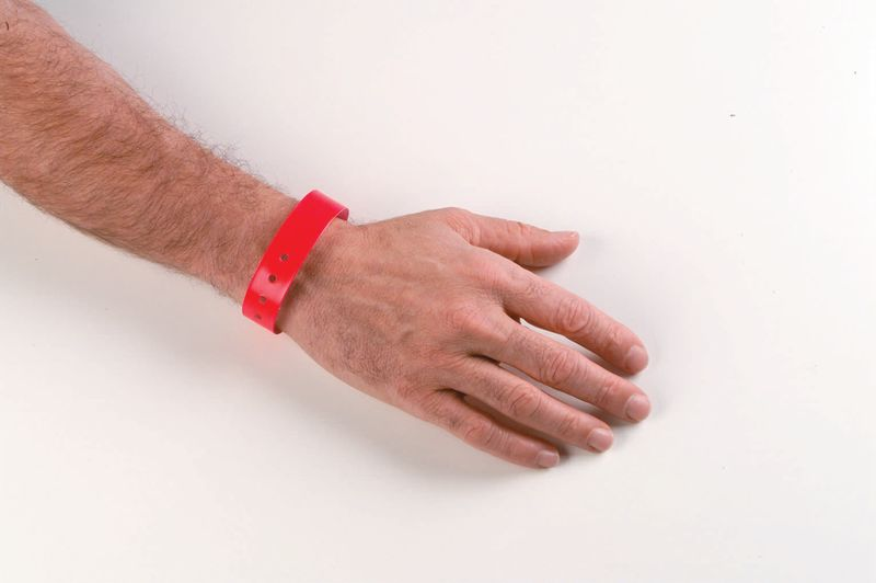 Vinyl Wristbands Pack of 100