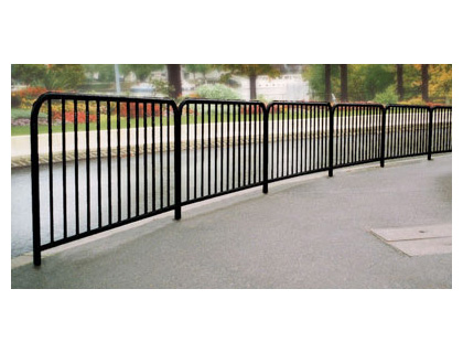 Safety guard rail galvanised 1000 mm