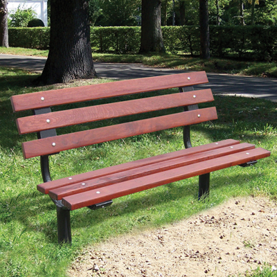 Premium wooden bench seat 1500 mm