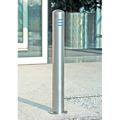 Stainless steel bollard 60 mm