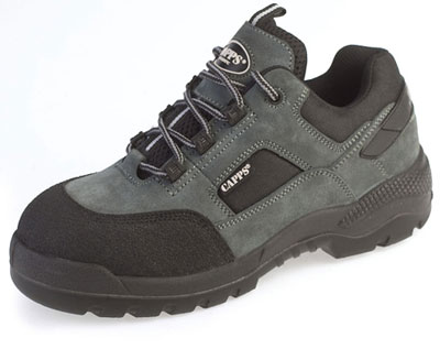 Grey suede sports hiker 10