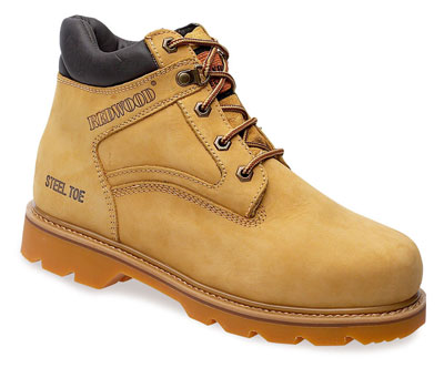 Ladies safety boots honey 5