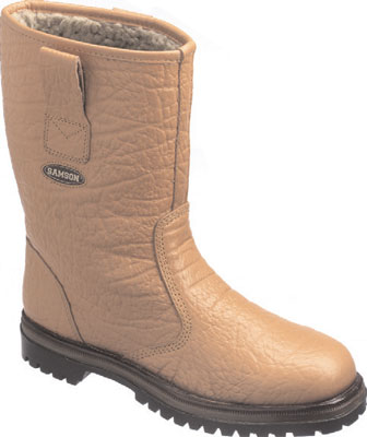 Warmlined rigger boot 11