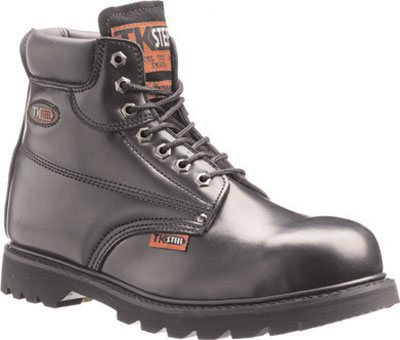 Goodyear welted safety boots black 13