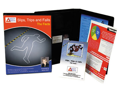 Slips, trips and falls DVD