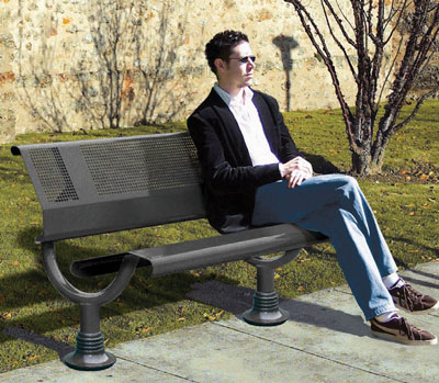 Oslo bench black