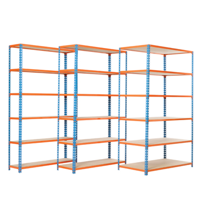 Pair of extra shelves 900 x 300 mm