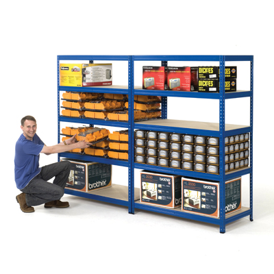265kg industry safety shelving