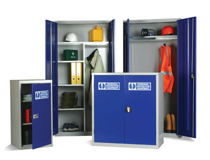 PPE cabinet 1830 x 915 x 457 mm 3 shelves