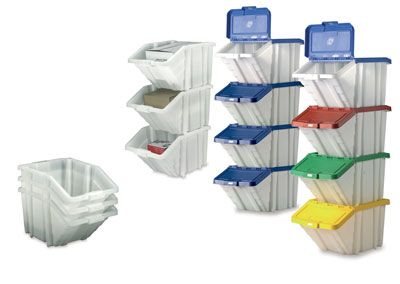 Multi-function containers mix colours