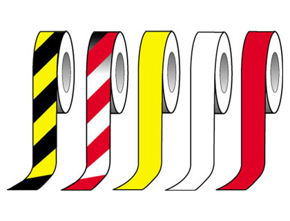 50 mm x 33 metre black yellow triple laminate tape