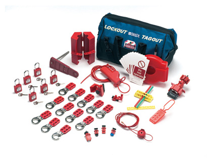 Valve & electrical lockout kit